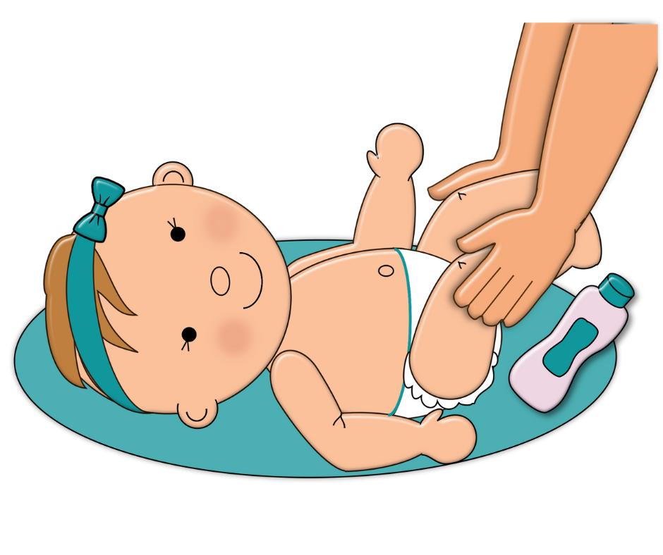 ماساژ بدن کودک با روغن بادام شیرین
