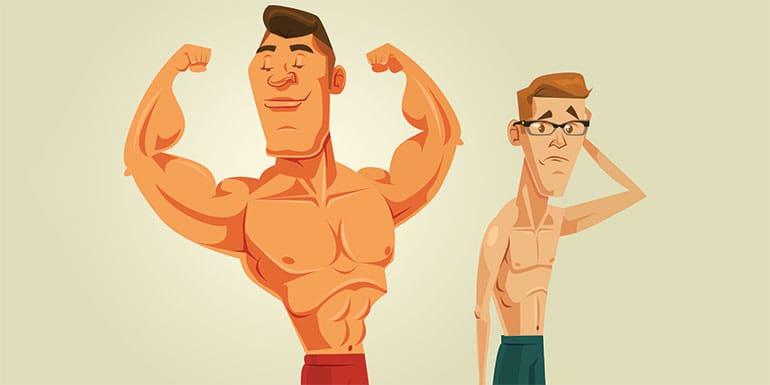 افزایش حجم عضلات با روغن خراطین